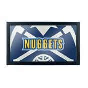 NBA Framed Logo Mirror - Fade - Denver Nuggets