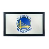 NBA Framed Logo Mirror - Fade - Golden State Warriors