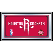 Houston Rockets NBA Framed Logo Mirror