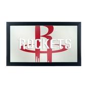 NBA Framed Logo Mirror - Fade - Houston Rockets