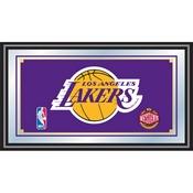 Los Angeles Lakers NBA Framed Logo Mirror