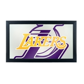 NBA Framed Logo Mirror - Fade - Los Angeles Lakers