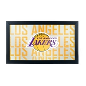 NBA Framed Logo Mirror - City - Los Angeles Lakers