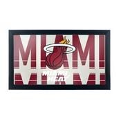 NBA Framed Logo Mirror - City - Miami Heat