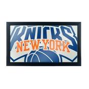 NBA Framed Logo Mirror - Fade - New York Knicks