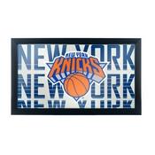 NBA Framed Logo Mirror - City - New York Knicks