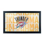 NBA Framed Logo Mirror - City - Oklahoma City Thunder