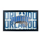 NBA Framed Logo Mirror - City - Orlando Magic