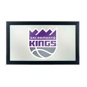 NBA Framed Logo Mirror - Fade - Sacramento Kings