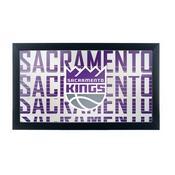 NBA Framed Logo Mirror - City - Sacramento Kings