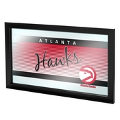 Atlanta Hawks Hardwood Classics NBA Framed Logo Mirror