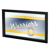 Golden State Warriors Hardwood Classics NBA Logo Mirror