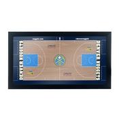 Denver Nuggets Official NBA Court Framed Plaque