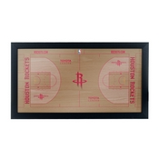 Houston Rockets Official NBA Court Framed Plaque