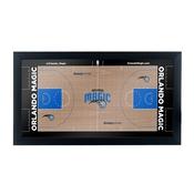 Orlando Magic Official NBA Court Framed Plaque