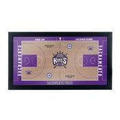 Sacramento Kings Official NBA Court Framed Plaque
