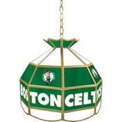 Boston Celtics NBA 16 Inch Stained Glass Lamp