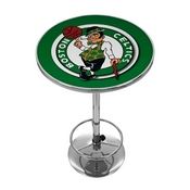 Boston Celtics NBA Chrome Pub Table