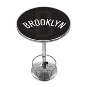 NBA Chrome Pub Table - Fade - Brooklyn Nets