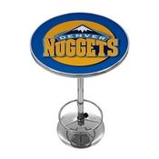 Denver Nuggets NBA Chrome Pub Table