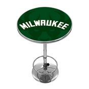 NBA Chrome Pub Table - Fade - Milwaukee Bucks