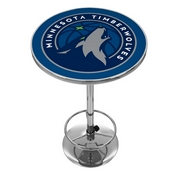 Minnesota Timberwolves NBA Chrome Pub Table