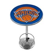 New York Knicks NBA Chrome Pub Table