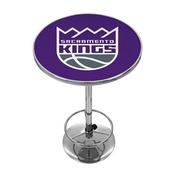 Sacramento Kings NBA Chrome Pub Table