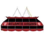 Atlanta Hawks NBA 40 Inch Stained Glass Lamp