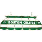 Boston Celtics NBA 40 Inch Stained Glass Lamp