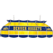 Denver Nuggets NBA 40 Inch Stained Glass Lamp