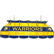 Golden State Warriors NBA 40 Inch Stained Glass Lamp