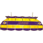 Los Angeles Lakers NBA 40 Inch Stained Glass Lamp