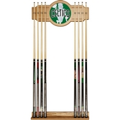 NBA Cue Rack with Mirror - Fade - Boston Celtics