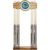 Golden State Warriors NBA Billiard Cue Rack with Mirror
