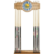 NBA Cue Rack with Mirror - City - Golden State Warriors