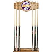 NBA Cue Rack with Mirror - Fade - Los Angeles Lakers
