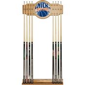 NBA Cue Rack with Mirror - Fade - New York Knicks
