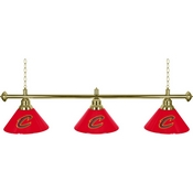 Cleveland Cavaliers NBA 3 Shade Billiard Lamp