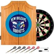 New Orleans Hornets NBA Wood Dart Cabinet Set