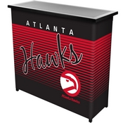 Atlanta Hawks Hardwood Classics NBA Portable Bar w/ Case