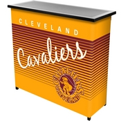 Cleveland Cavaliers Hardwood Classics NBA Portable Bar w/Case