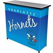 Charlotte Hornets Hardwood Classics NBA Portable Bar w/Case