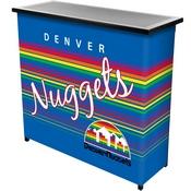 Denver Nuggets Hardwood Classics NBA Portable Bar w/Case