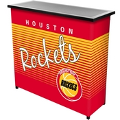 Houston Rockets Hardwood Classics NBA Portable Bar w/Case