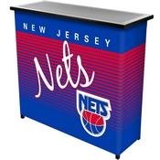 New Jersey Nets Hardwood Classics NBA Portable Bar w/Case
