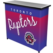 Toronto Raptors Hardwood Classics NBA Portable Bar w/Case