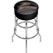 NHL Chrome Bar Stool with Swivel - Watermark - Anaheim Ducks
