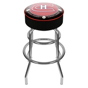 Throwback Montreal Canadiens Padded Bar Stool
