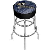 NHL Chrome Bar Stool with Swivel - Watermark - Nashville Predators